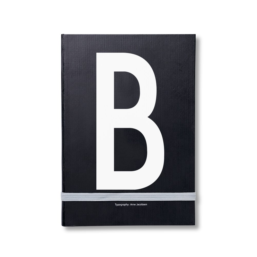 Design Letters 個人字母筆記本 B