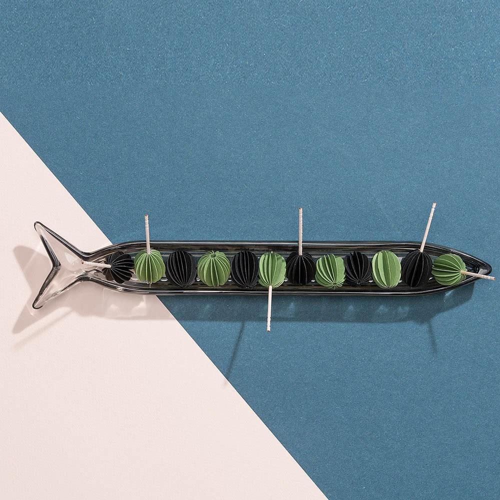 DOIY|小沙丁魚盤(黑)