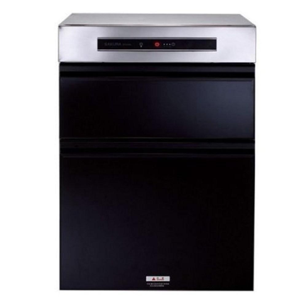 送膳魔師平底櫻花落地式臭氧殺菌50cm(與Q7595ML同款)烘碗機黑色Q-7595ML