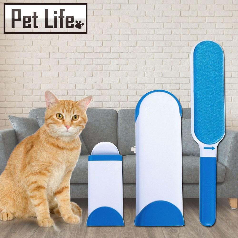 Pet Life 神奇除毛刷/黏毛器/寵物黏毛(買大送隨身型)