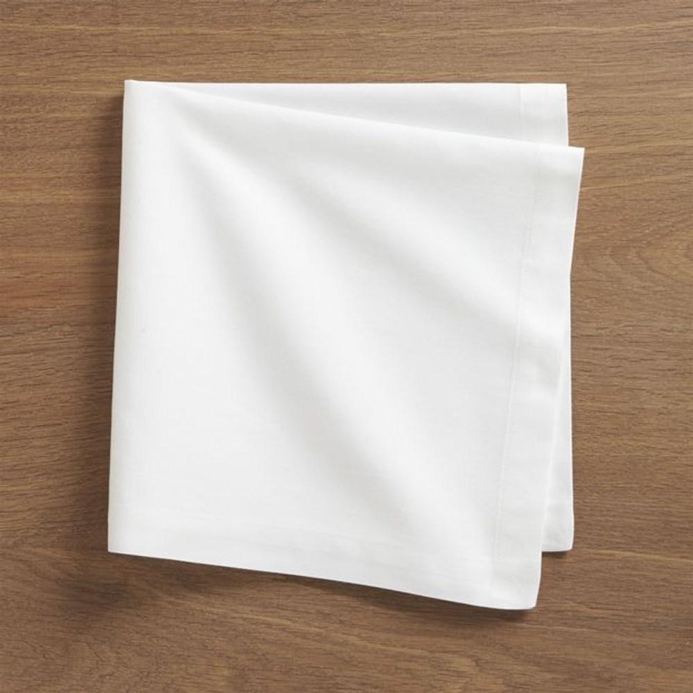 Crate&Barrel Fete 餐巾 白色