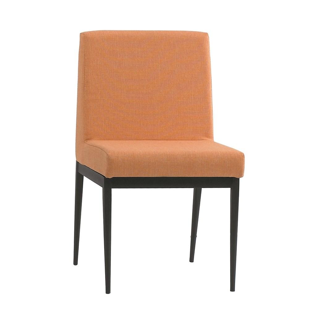 卡特黑腳布餐椅-橘色
