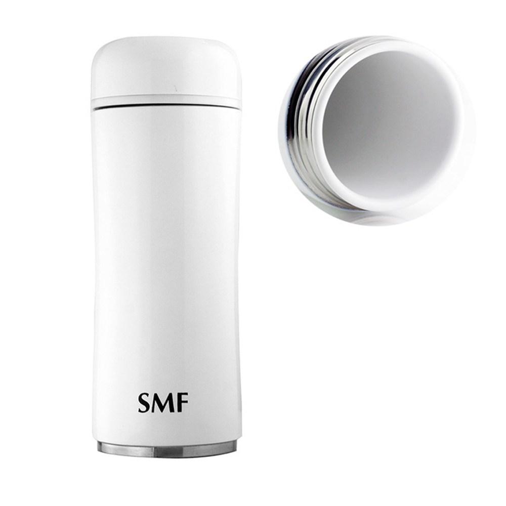 SMF骨瓷保溫杯350ml-鮮乳白(蘑菇款) ❤贈SMF攜護袋