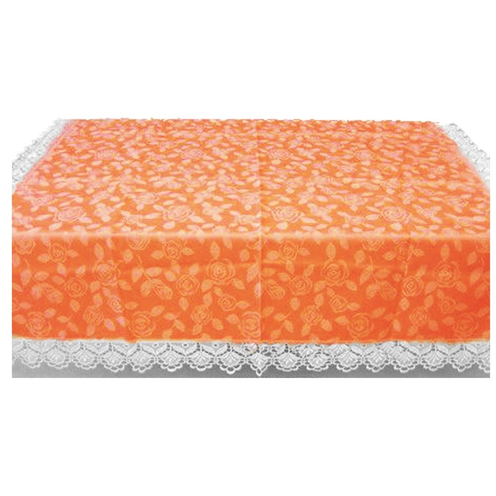 【J&N】瑰麗蕾絲桌巾115*180(瑰麗桔)橘色