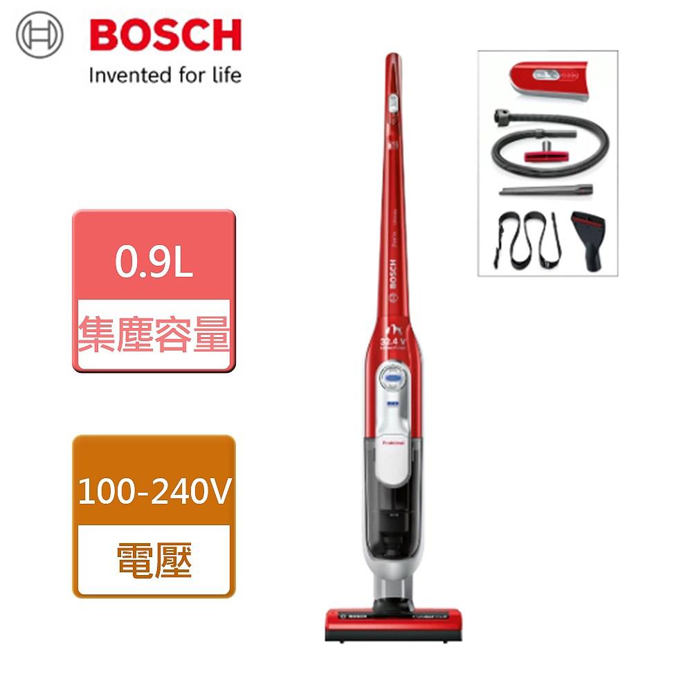【BOSCH 博世】無線吸塵器-魔力紅-BCH73PETTW
