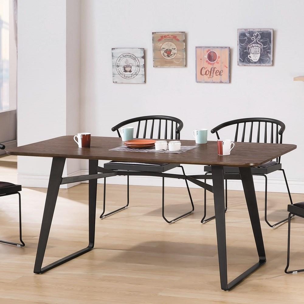 伯特工業風5.3尺餐桌