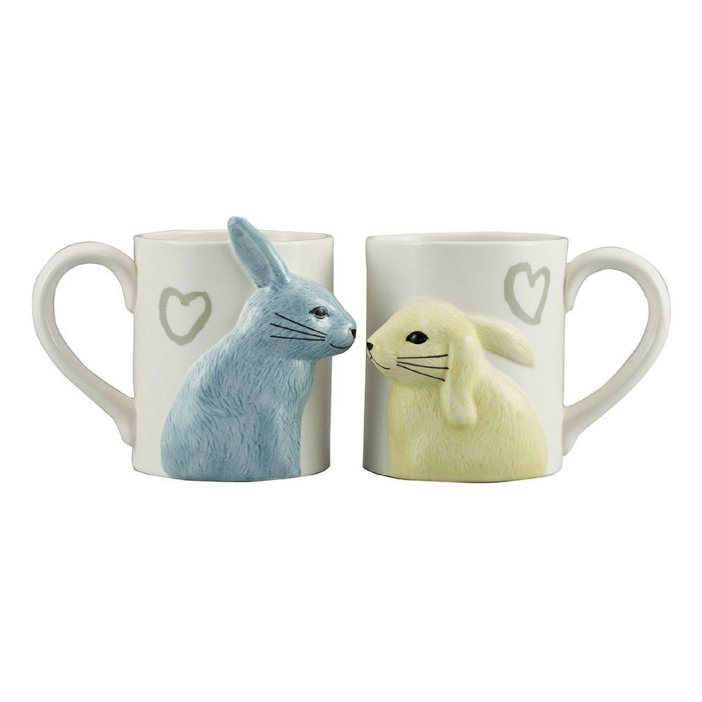 日本 sunart 對杯 - 兔兔親親