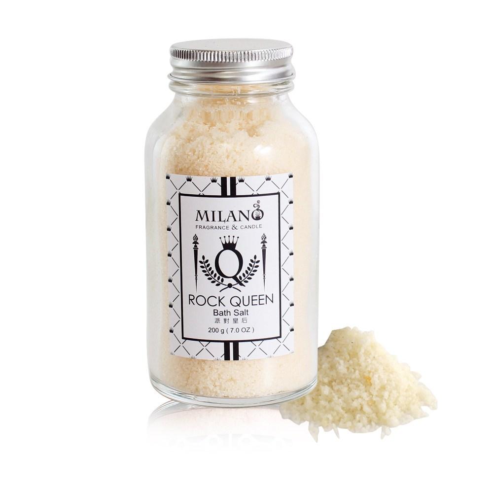 milano天然井鹽/香氛沐浴鹽200g(派對皇后)