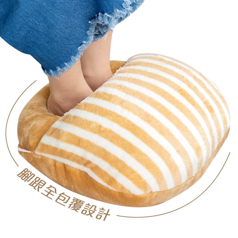 樂嫚妮 暖腳 踏墊 暖手枕 腳跟全包覆設計暖腳枕