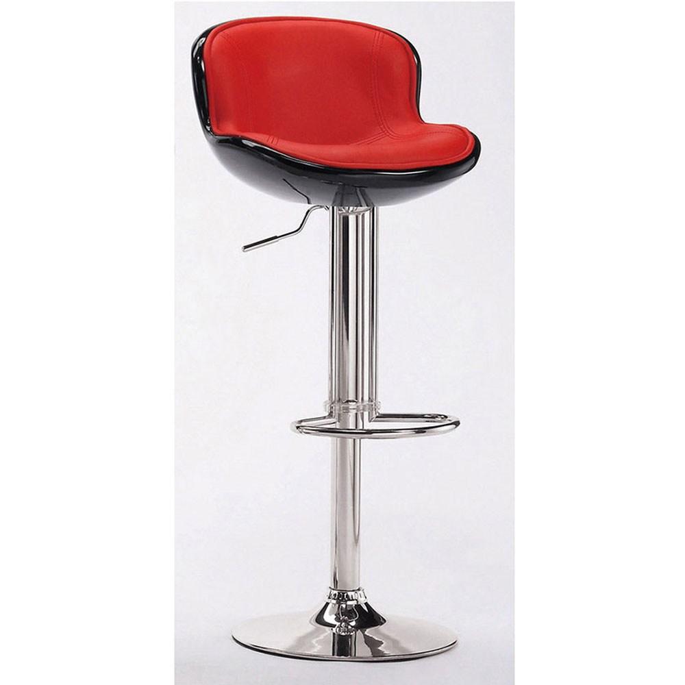 瓦特吧椅(紅黑)