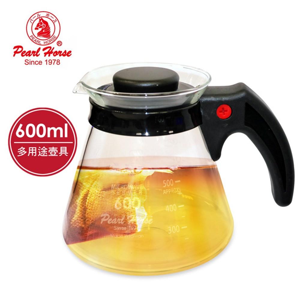 【日本寶馬】600ml多功能耐熱沖泡壺 TA-G-07-600