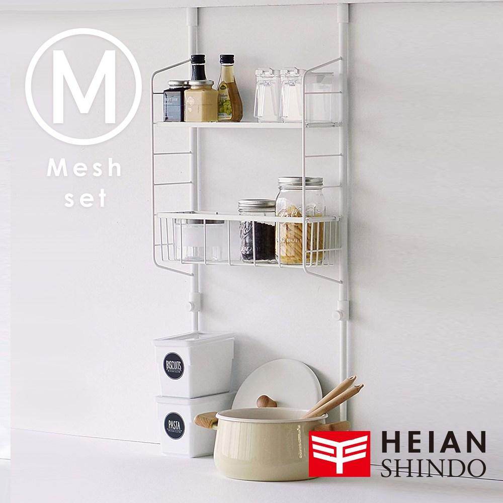 日本【平安伸銅 】SPLUCE免工具廚衛收納籃層架(M)組合收納籃層架(M)組合SPL-4