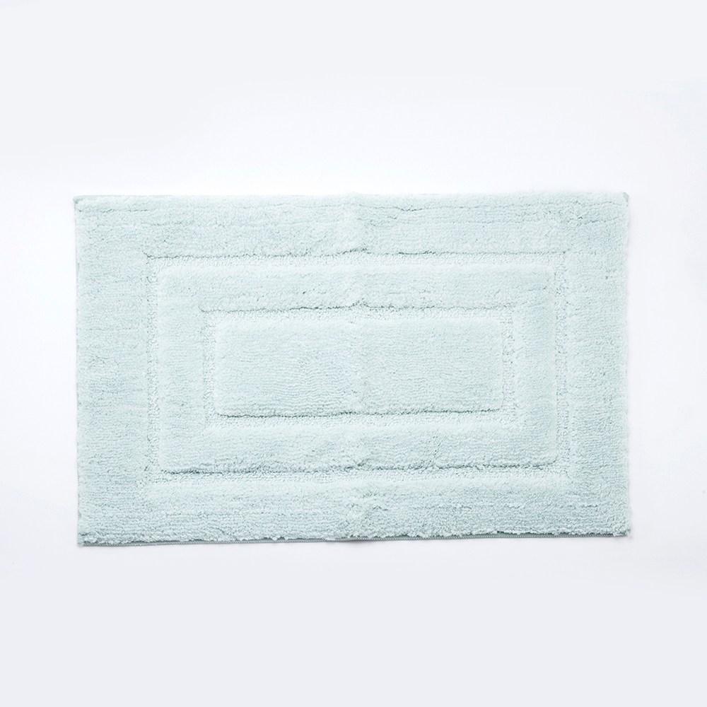 HOLA 超細纖維抗菌吸水踏墊50x80cm 綠