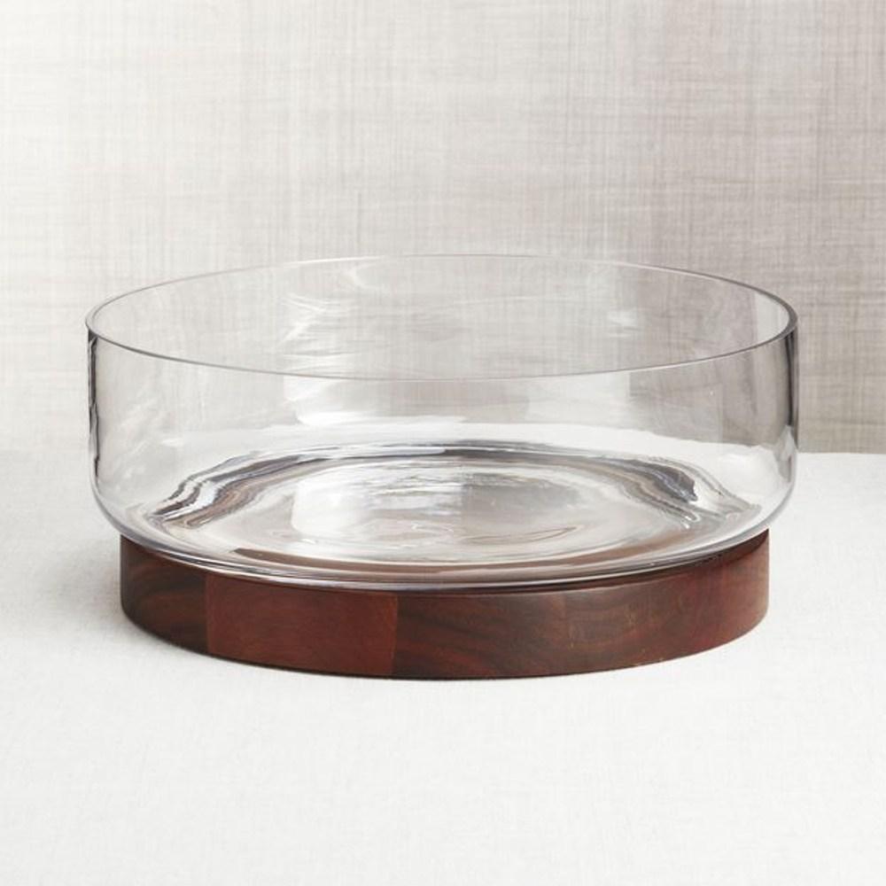 Crate&Barrel Prospect 玻璃餐碗