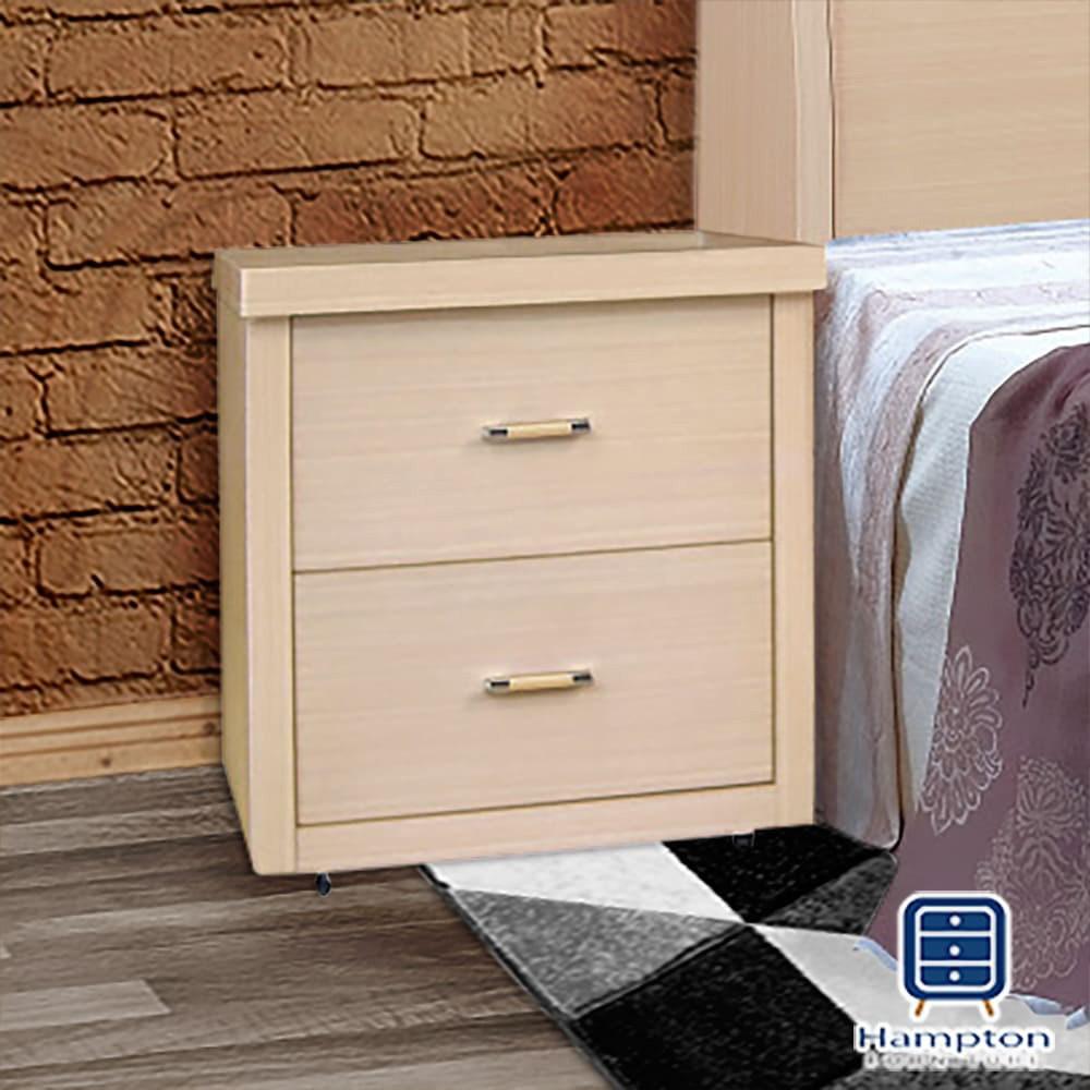 【Hampton 漢汀堡】茱妮白橡木床頭櫃