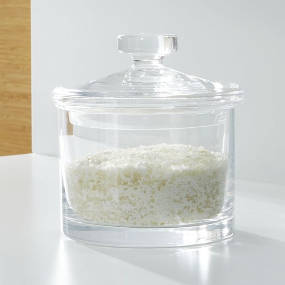 Crate&Barrel Glass 玻璃罐 (M) 13cm