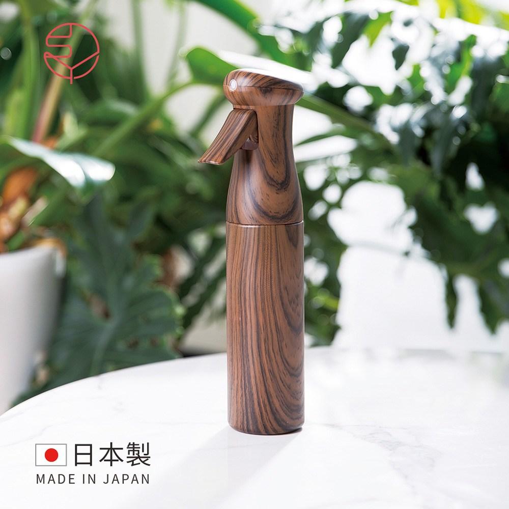 【日本霜山】日本製氣壓式連續極細噴霧罐/荷蘭瓶-250ml-胡桃木紋單一規格