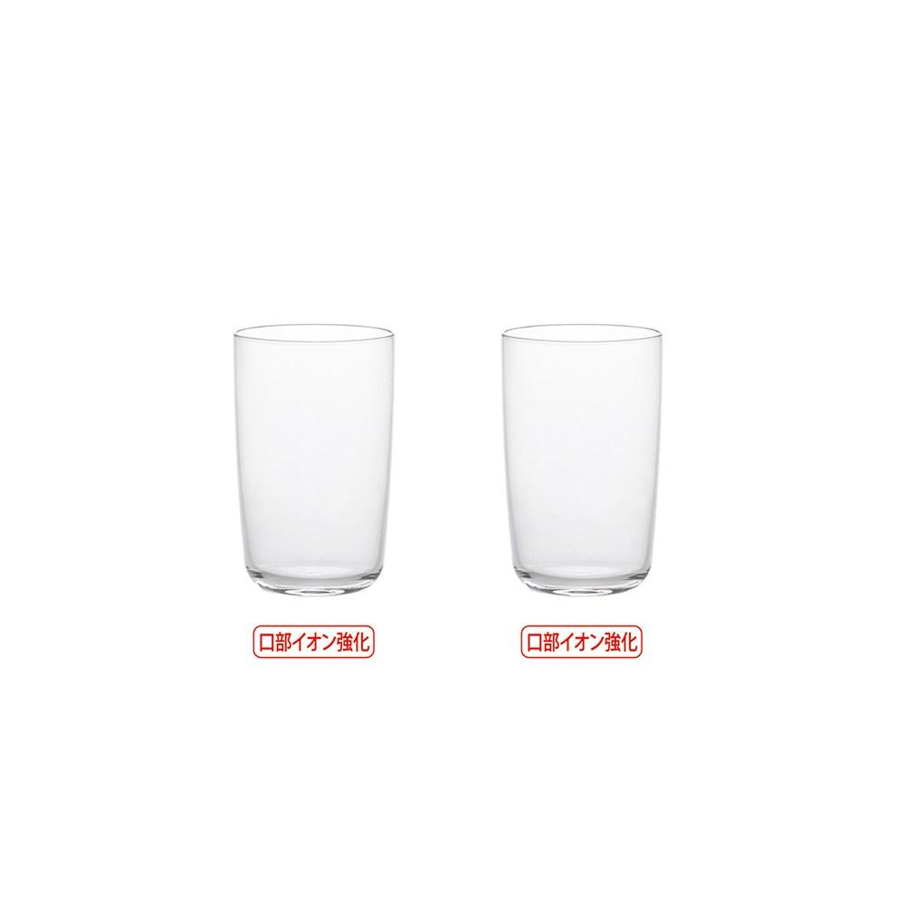 日本ADERIA 爽快薄口強化啤酒杯245ml-2入組
