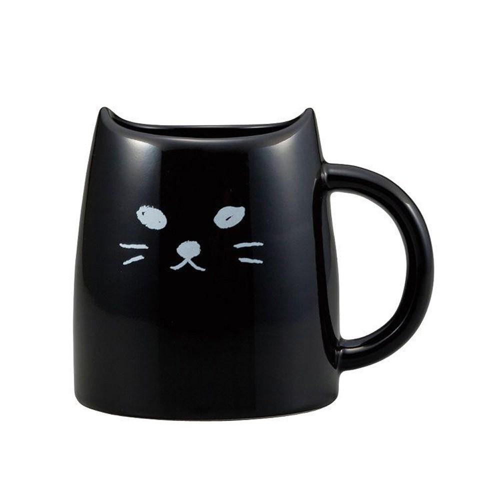 日本 sunart 馬克杯 - 黑貓