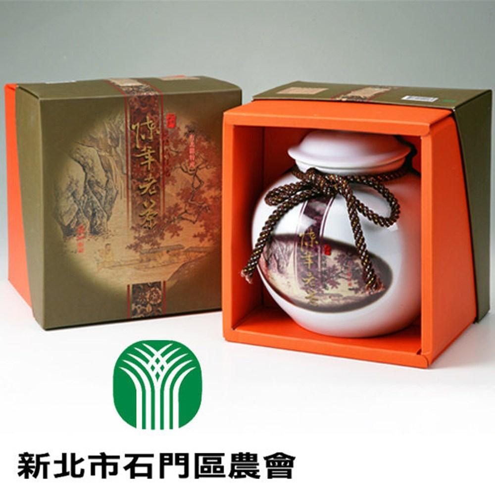 石門.陳年老茶-陶瓷罐裝(600g/罐),共一盒