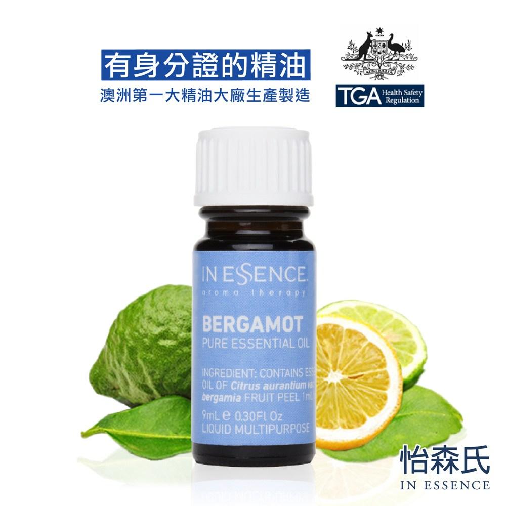 澳洲第一大品牌-怡森氏 IN ESSENCE 100%佛手柑純精油  (TGA瓶身認證編號