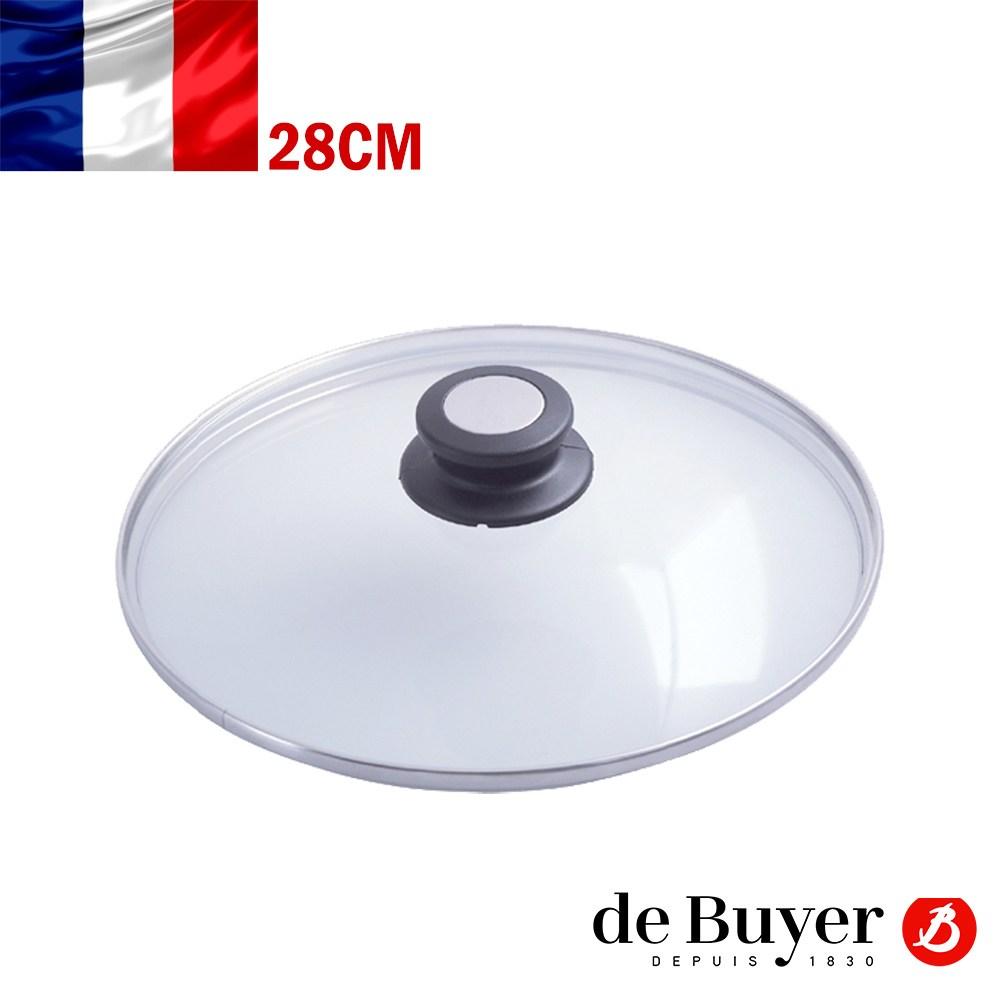【de Buyer 畢耶】炒鍋專用玻璃鍋蓋28cm