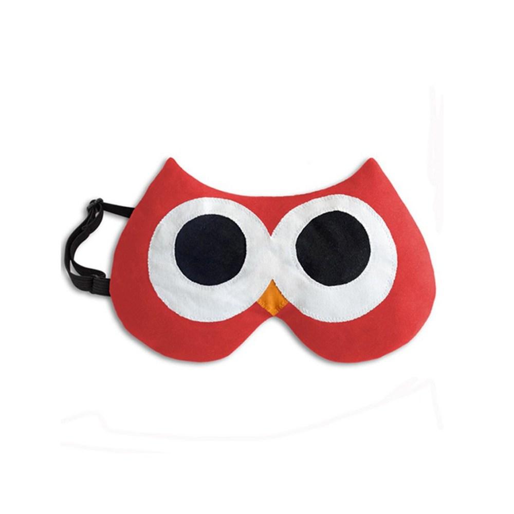 LESCHI Eye Mask 舒緩疲勞熱敷/冷敷眼罩 - 貓頭鷹