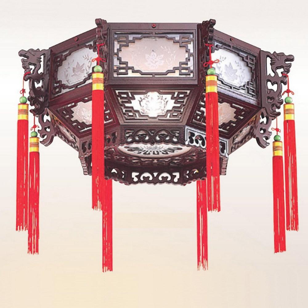 【大巨光】古典風宮燈_中(LW-09-2693)