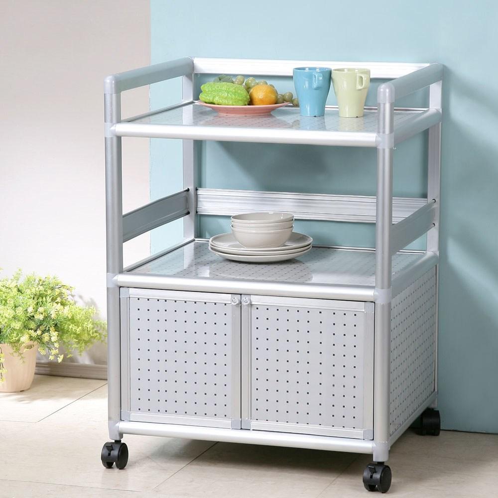 Homelike 鋁合金2尺二門收納櫃