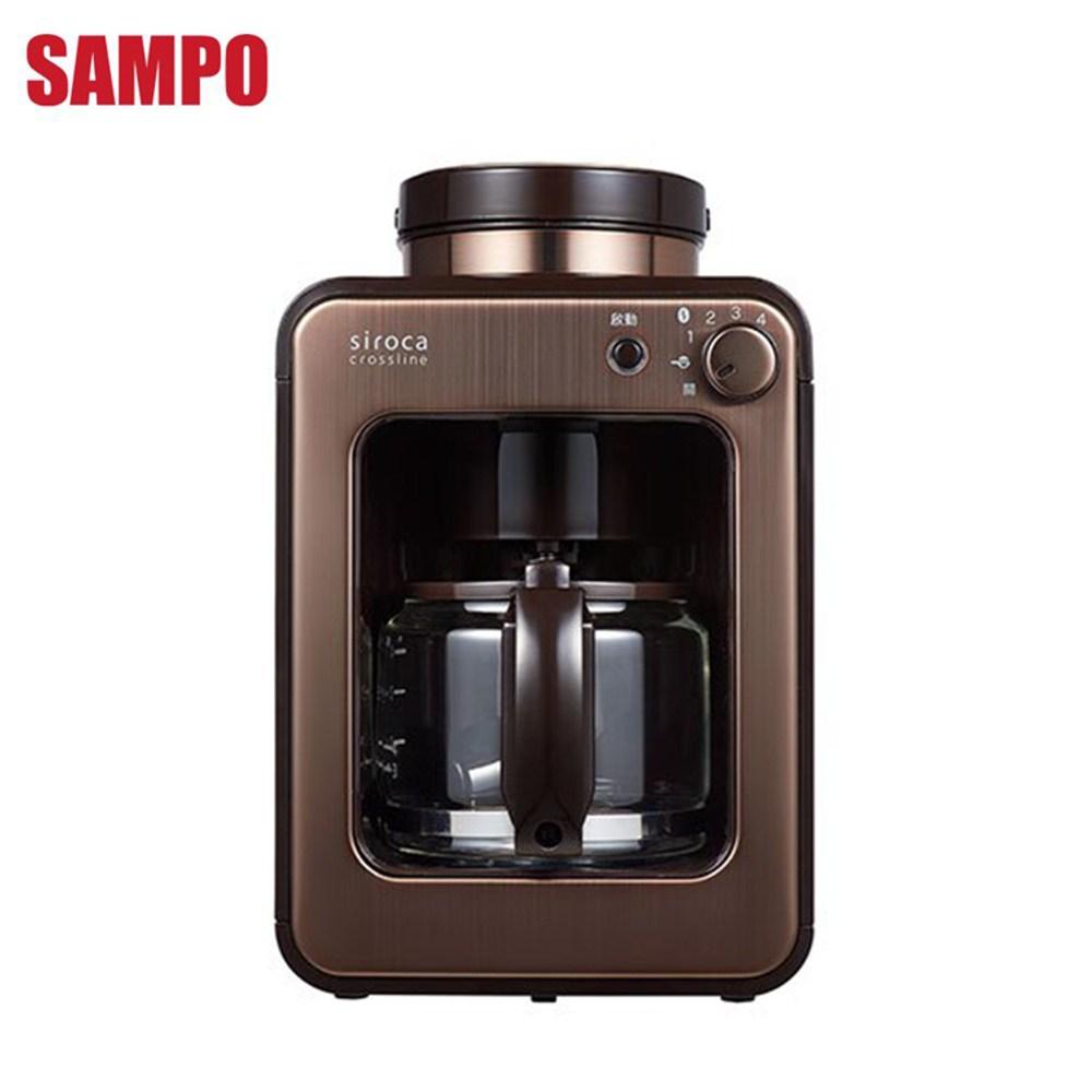 日本siroca crossline自動研磨咖啡機SC-A1210CB