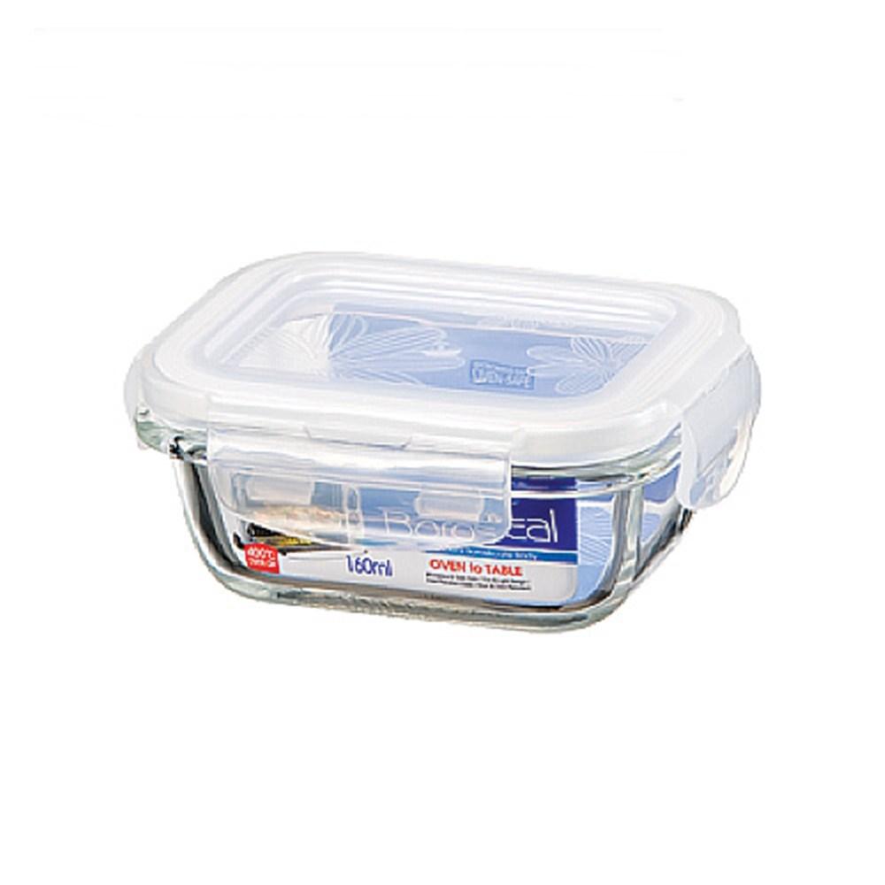 樂扣樂扣耐熱玻璃長方保鮮盒160ML