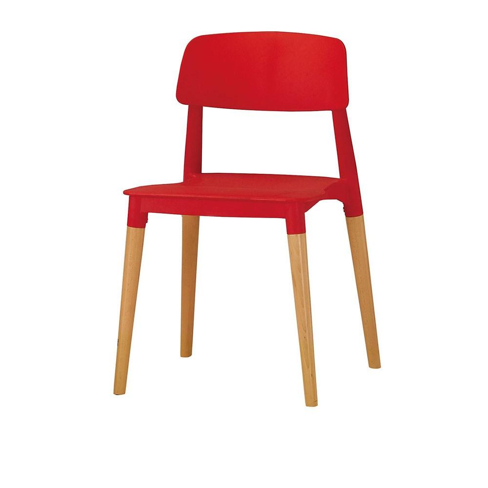 奧斯本造型椅(紅)
