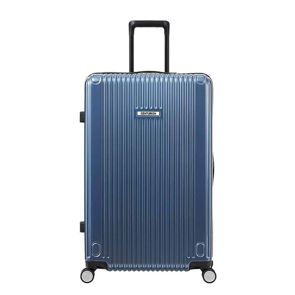 【CENTURION百夫長】拉鍊款27吋U_S_HNL夏威夷藍行李箱