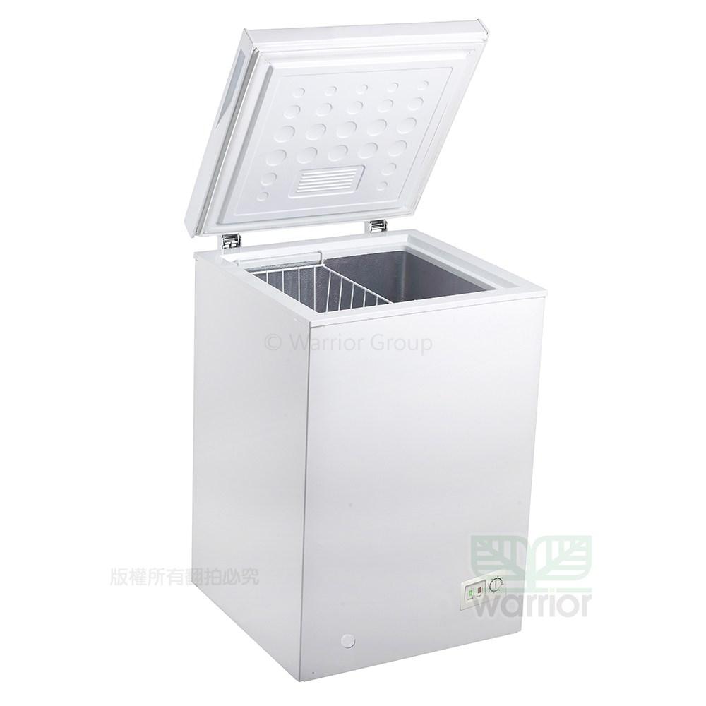 Haier海爾 1尺9 上掀密閉冷凍櫃 (HCF-102S)新款