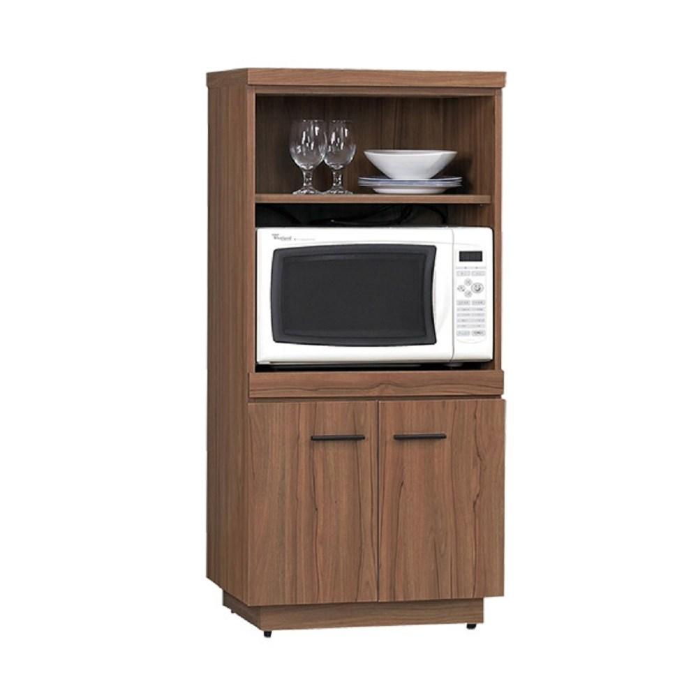 比堤2X4尺柚木色餐櫃