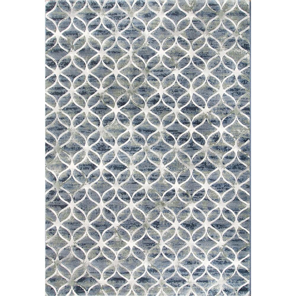 古銀高密度地毯200x290圓舞藍