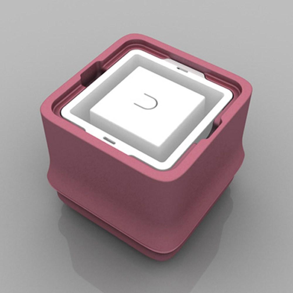 【POLAR ICE】方竹系列 粉色 (正方形冰)