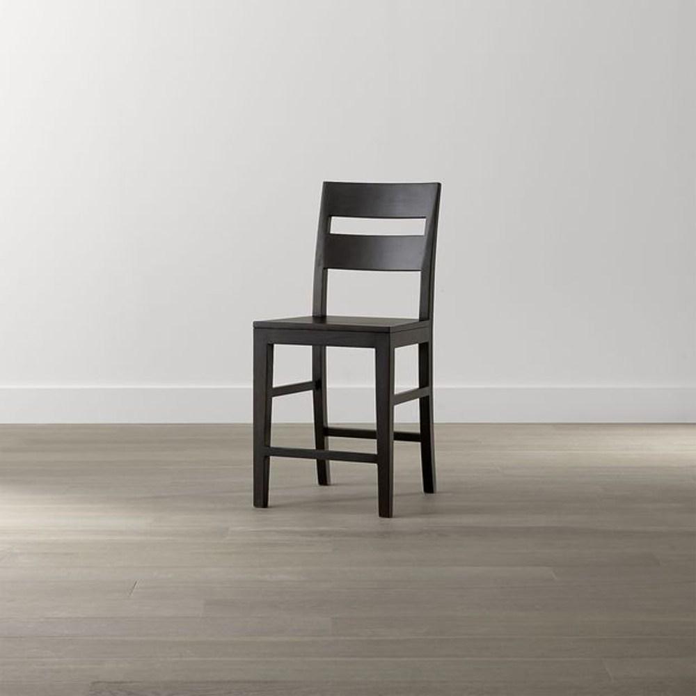 Crate&Barrel Basque 吧台椅 可可色 60cm