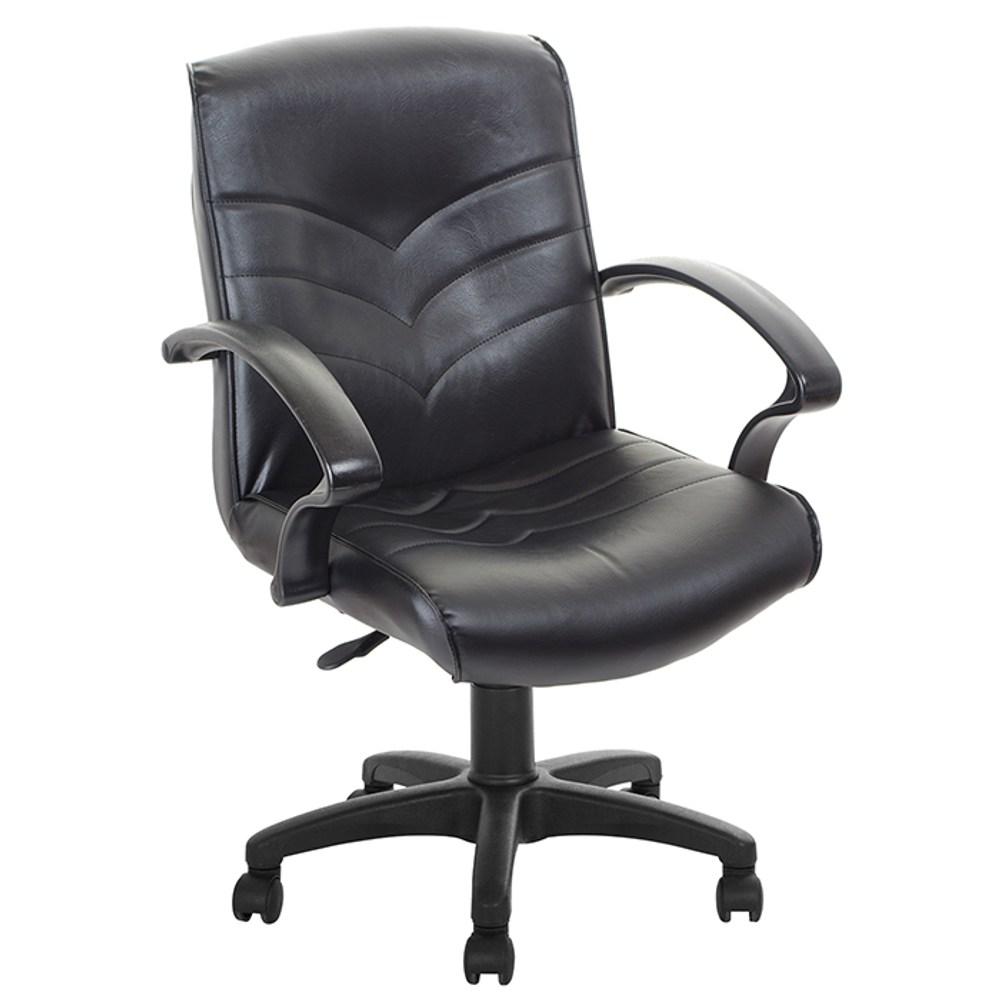GXG 短背皮面 電腦椅 TW-1007E