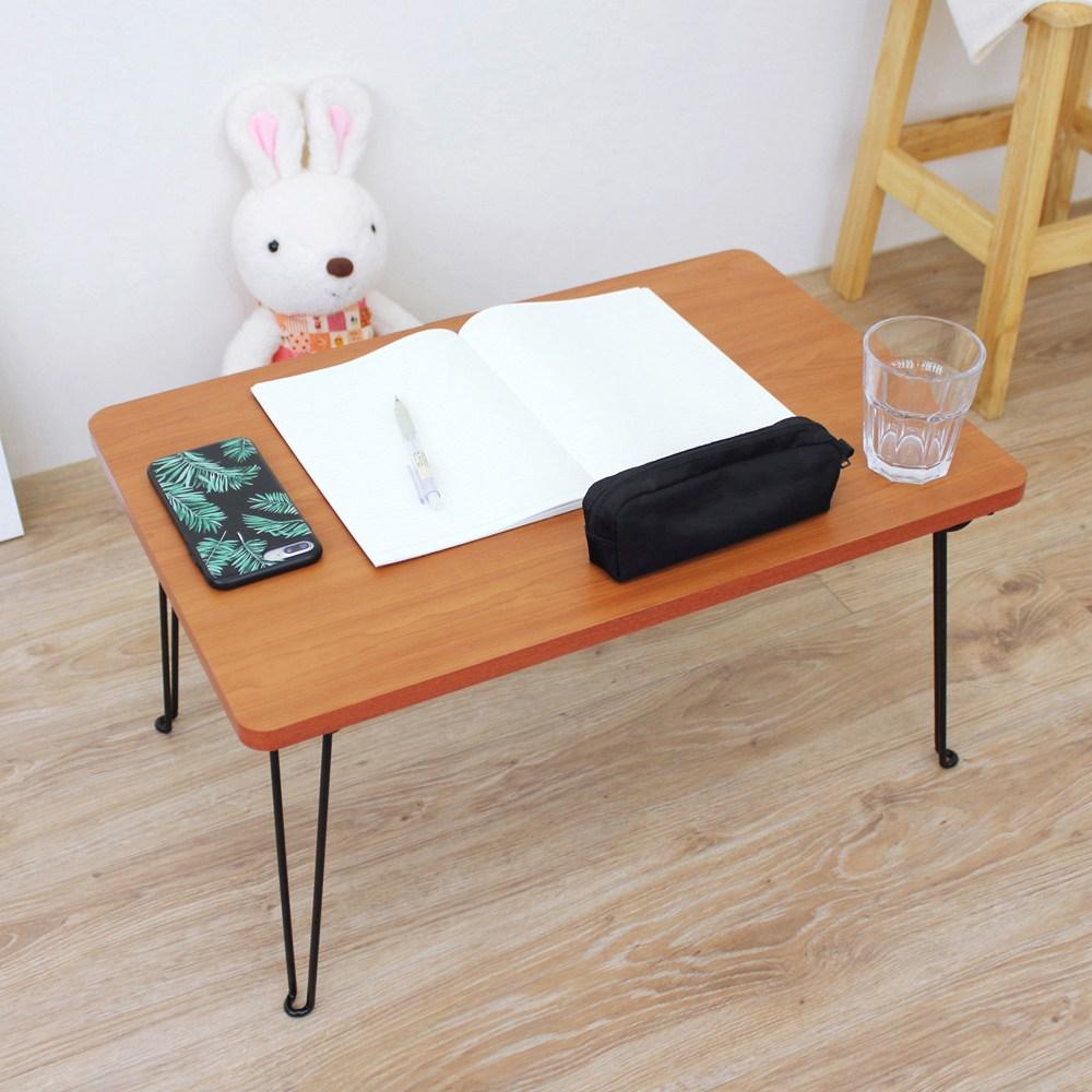 【頂堅】折合腳-折疊桌/矮腳桌-寬60x長40x高30公分-楓葉紅木色楓葉紅木色