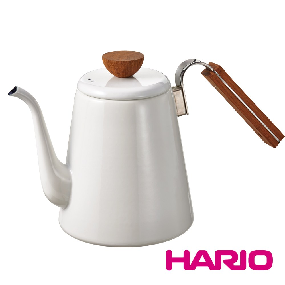 HARIO  Bona琺瑯細口壺 BDK-80-W