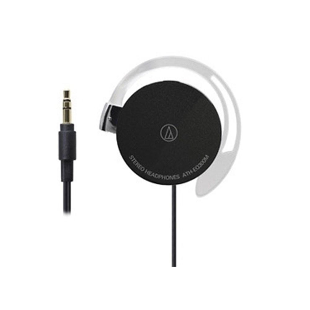 鐵三角 ATH-EQ300M 黑色 耳掛式耳機 超輕薄20g