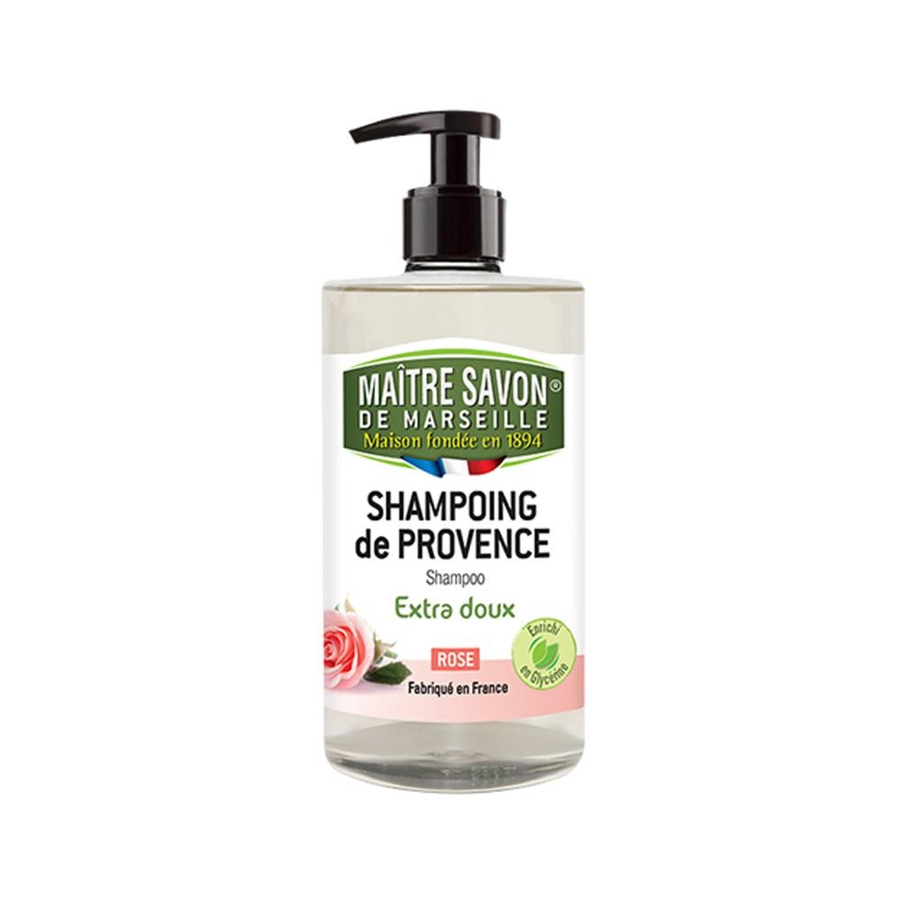 法國玫翠思馬賽洗髮精(玫瑰)500ML-2入組