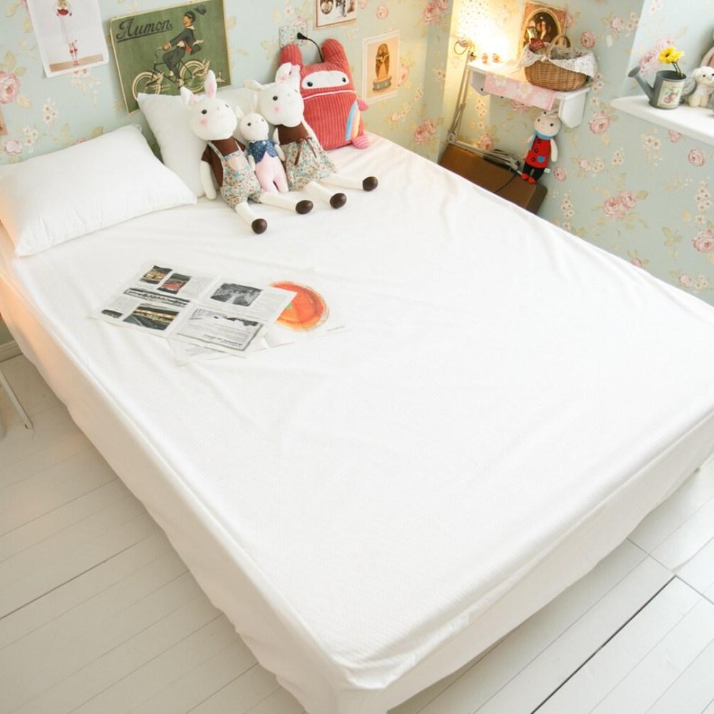 【雙人】防水床包式保潔墊 台灣製 物理性防水 水洗即可乾淨