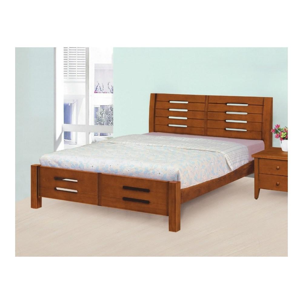 【MUNA 家居】1837型妮可5尺實木雙人床