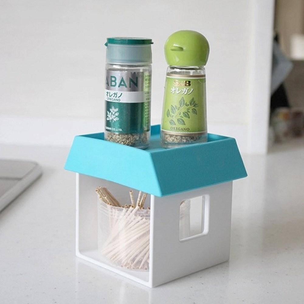 日本Hachiman創意小屋收納架-藍