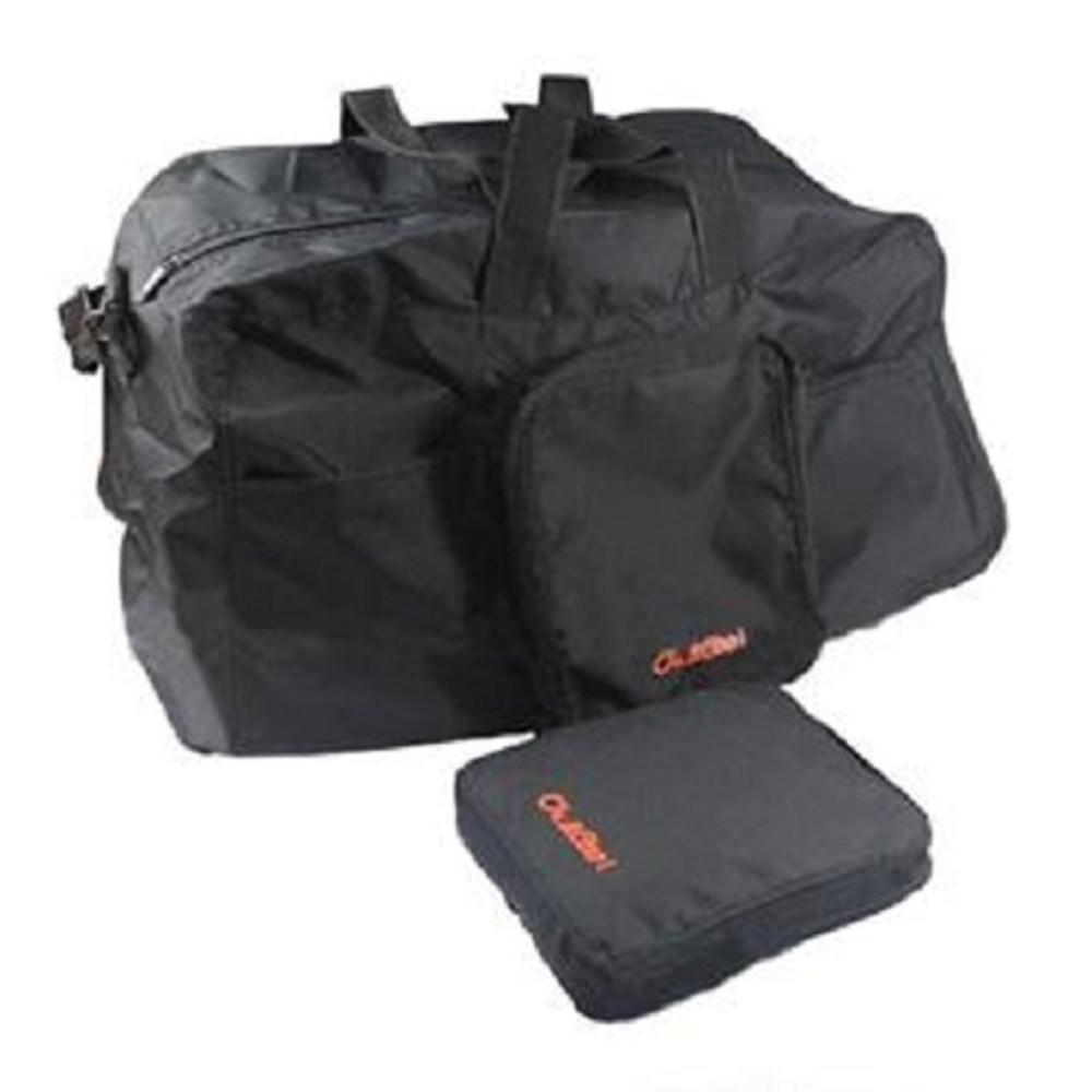 PUSH!可折疊便攜式 旅行包 萬用旅行袋 收納袋U17-1寶藍色