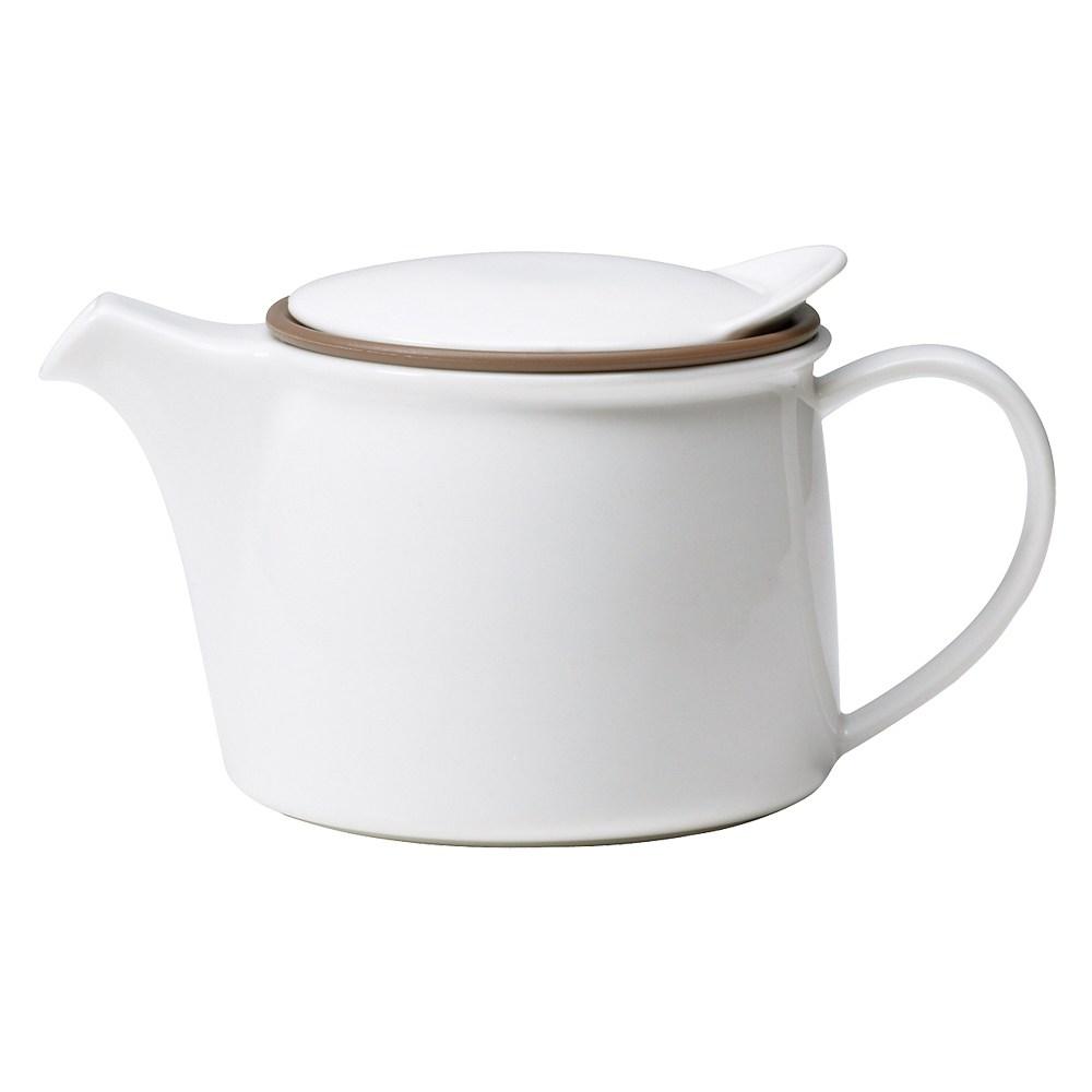 KINTO Brim 茶壺450ml(白)