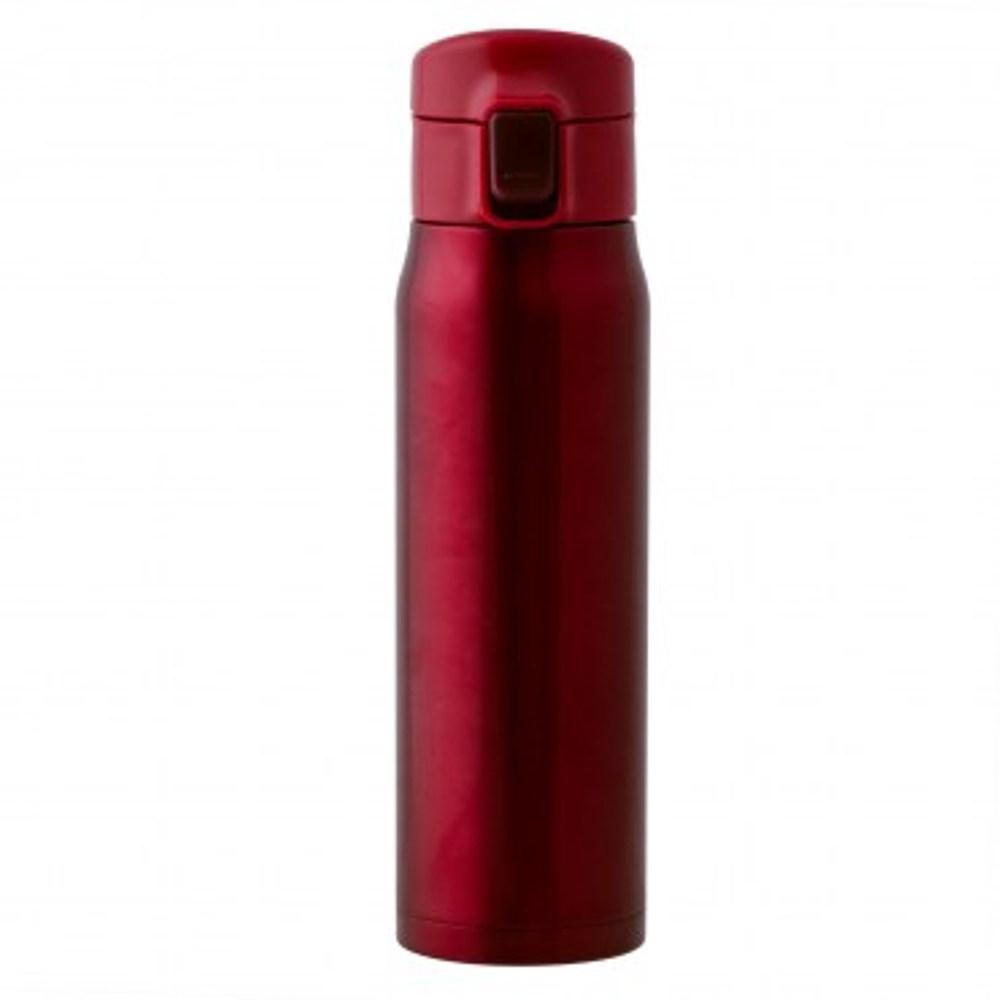 HOLA home 經典彈跳保溫瓶500ml 紅色