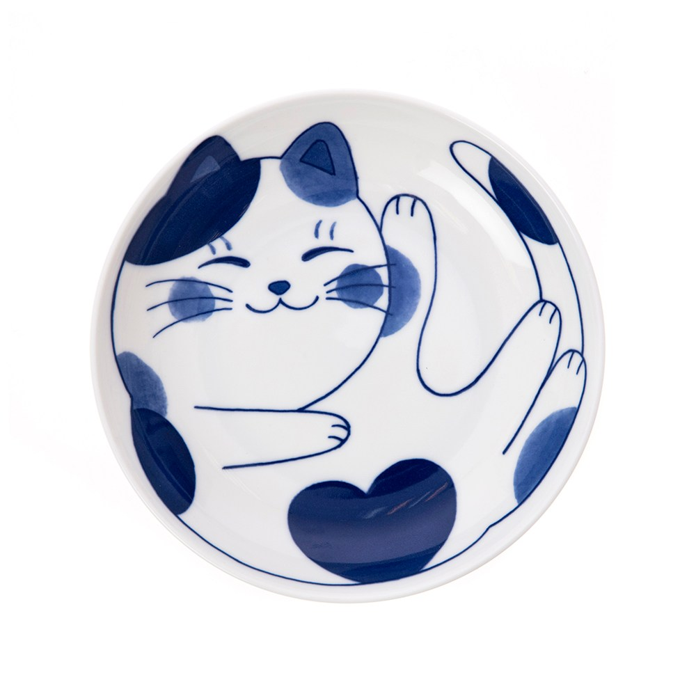 日本花貓咪圓盤20cm